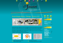 site internet Établissements Jaunet